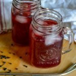 Blueberry Elderberry Water Kefir