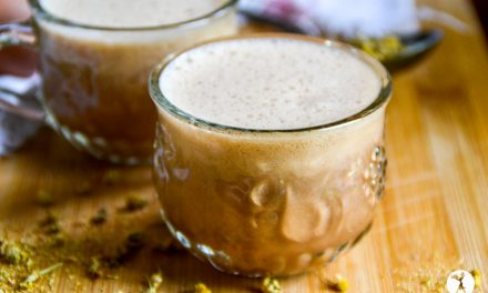 Chocolate Chamomile Moon Milk for Kids