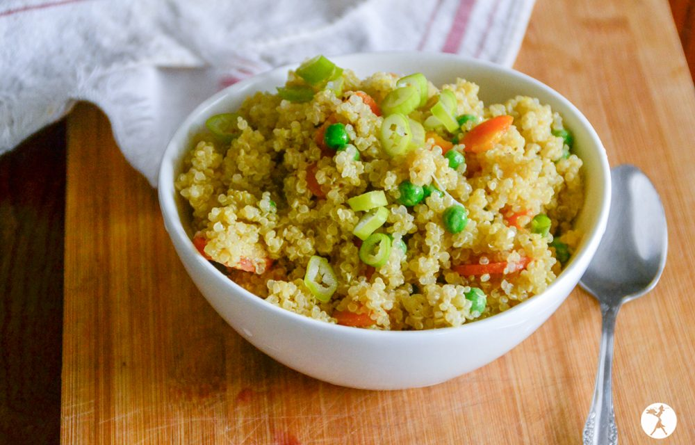Easy Instant Pot Fried Rice or Quinoa