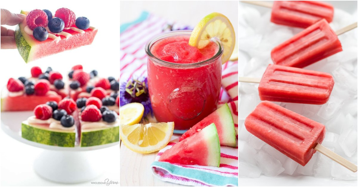 40+ Delicious Gluten-Free Watermelon Recipes!