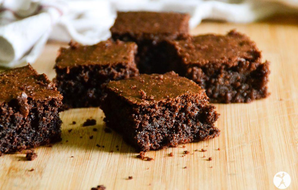 Perfect Dark Chocolate Almond Flour Brownies