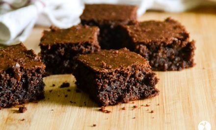 Perfect Dark Chocolate Almond Flour Brownies