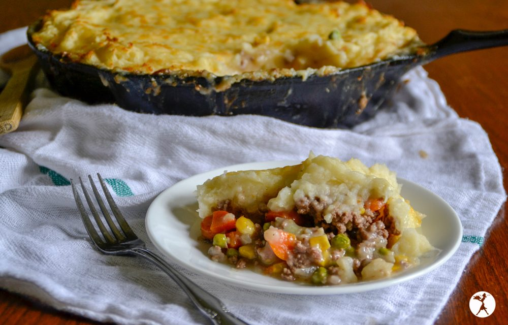 Easy Cheesy Shepherds Pie