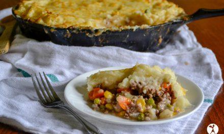 Easy Cheesy Shepherds Pie