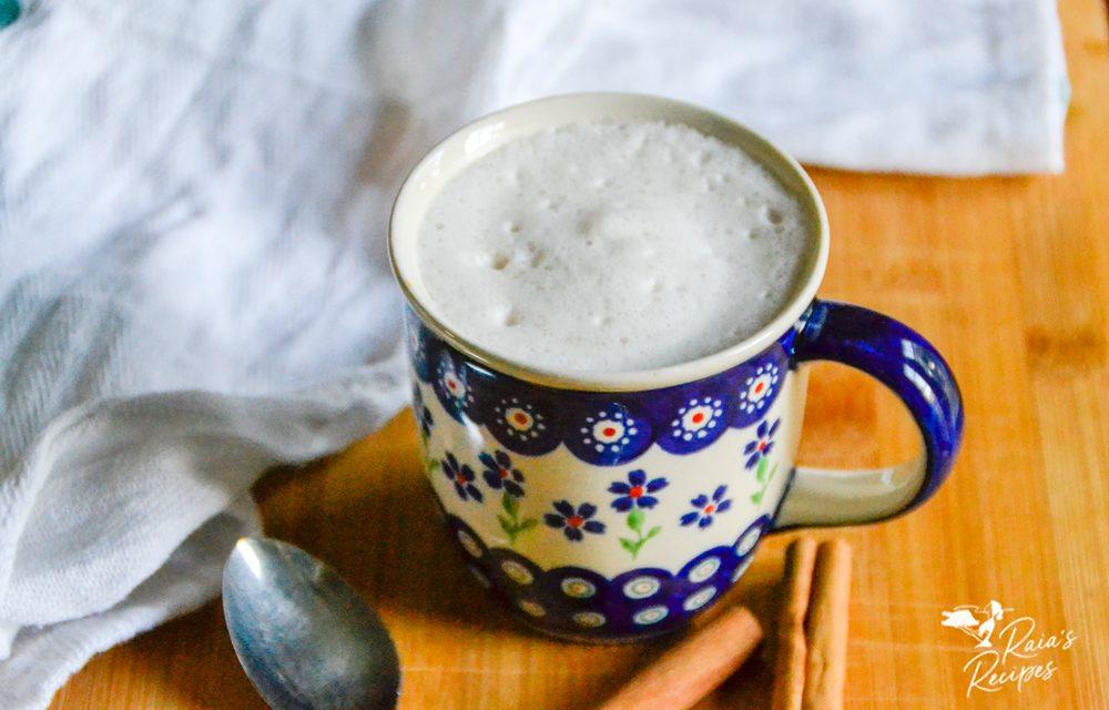Cinnamon Yerba Mate Latte