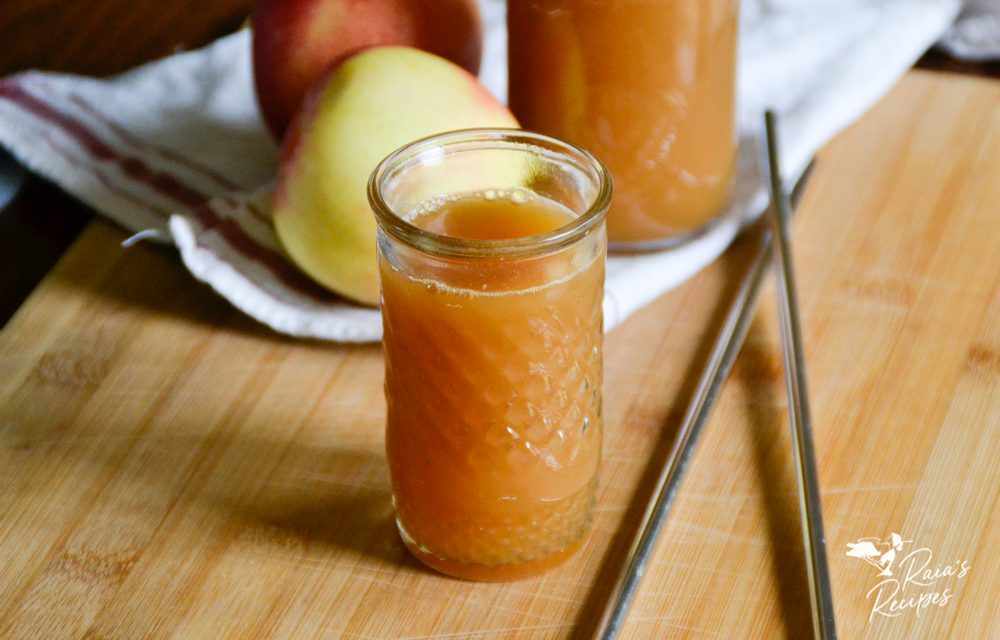 Easy Homemade Apple Juice in the Blender