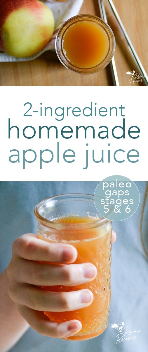 No more buying nutritionally worthless apple juice from the store, this homemade apple juice in the blender is easy peasy and packed with goodness! #homemade #applejuice #apples #juice #vegan #paleo #gapsdiet #gapsstage5 #gapsstage6 #gapsintro #DIY #blender