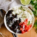 Easy Vegetarian Black Bean Burrito Bowls