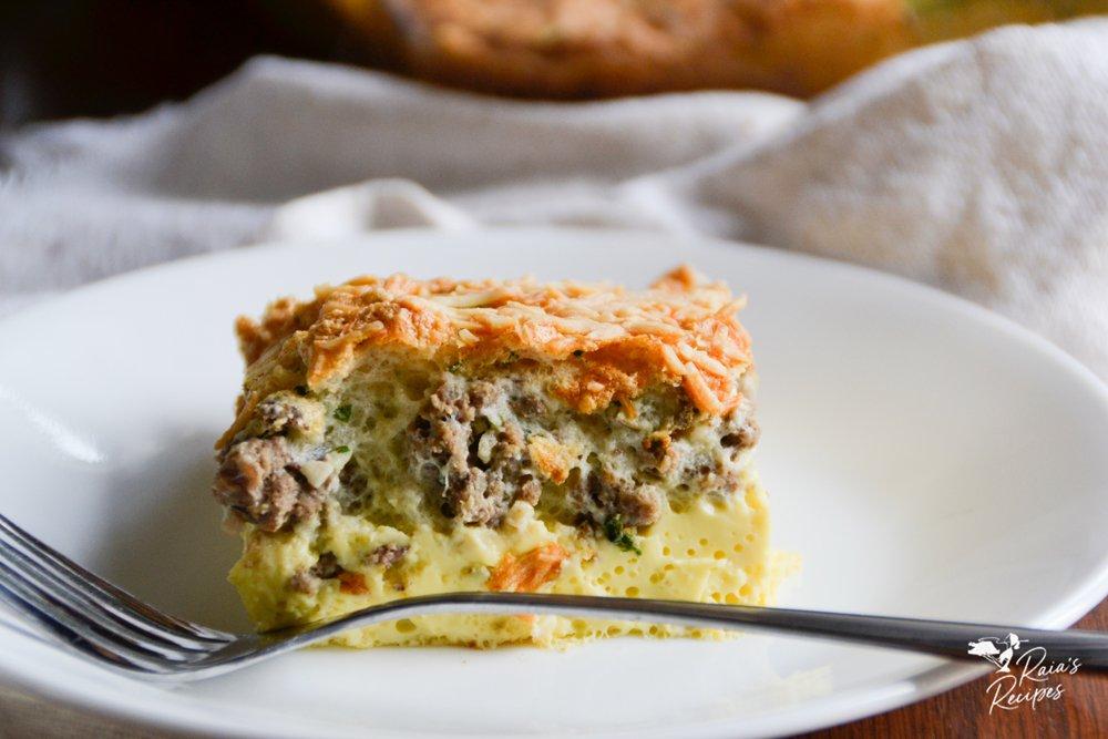 cover photo easy paleo frittata from raiasrecipes.com