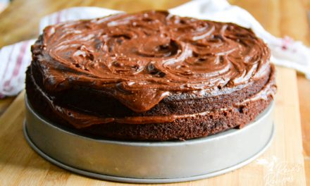 Rich Paleo Chocolate Banana Cake