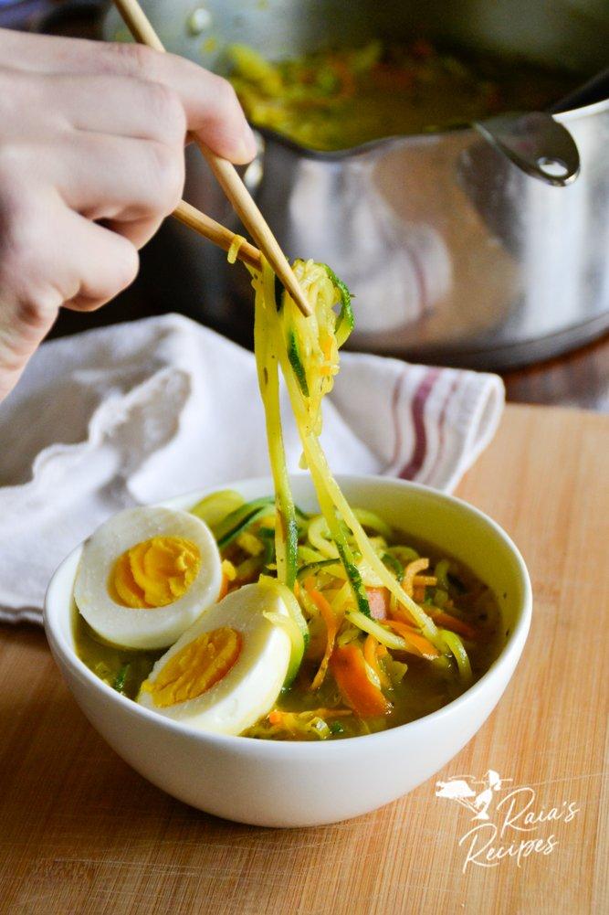 chopsticks ramen zoodle soup raiasrecipes.com