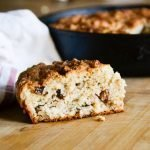 Grain-Free Irish Soda Bread with Raisins & Walnuts